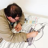 Künstler malt Bild - Teaser
