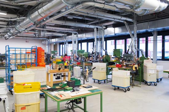 Foto Holzwerkstatt Praunheimer Werkstätten