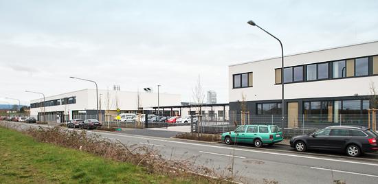 Foto Einfahrt Praunheimer Werkstatt