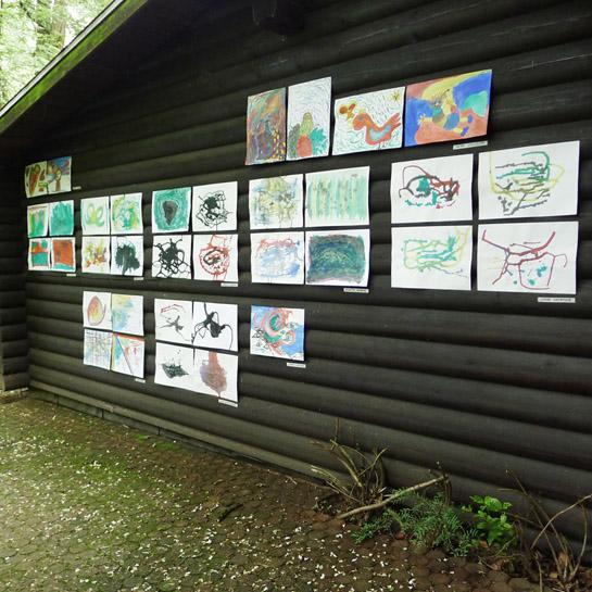 Kunst-Workshop Ad Hoc Ausstellung