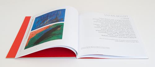 Foto Kunstbuch aufgeschlagen