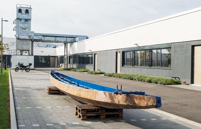Drachenboot bei Praunheimer Werkstätten
