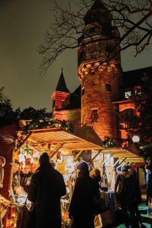 Weihnachtsmarkt am Liebieghaus