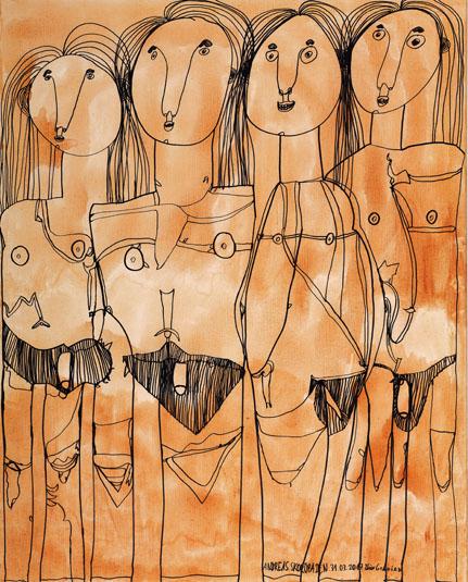 "Bild ""Vier Grazien"", Andreas Skorupa"