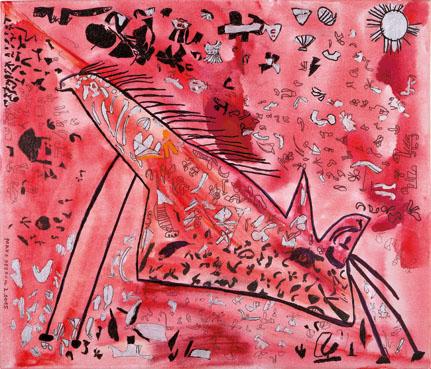 """""""Pferd"""", Manfred Buhl"""