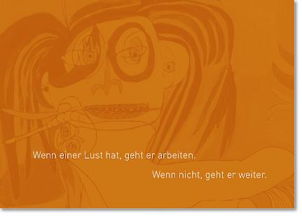 Postkarte mit Zitat ausText von Karte Birgit Ziegert