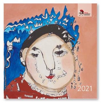Titelseite des Kunstkalenders 2021