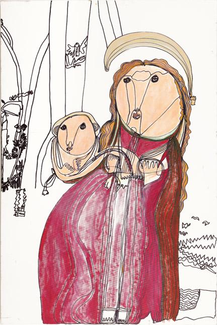 """Bild """"Madonna mit Kind"""" von Andreas Skorupa"""