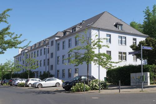 Wohnprojekt der Praunheimer Werkstätten in der Sonnentaustraße in Frankfurt-Preungesheim.