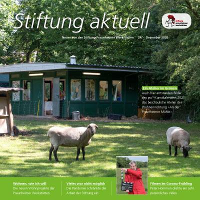 Titelseite von Stiftung aktuell 24